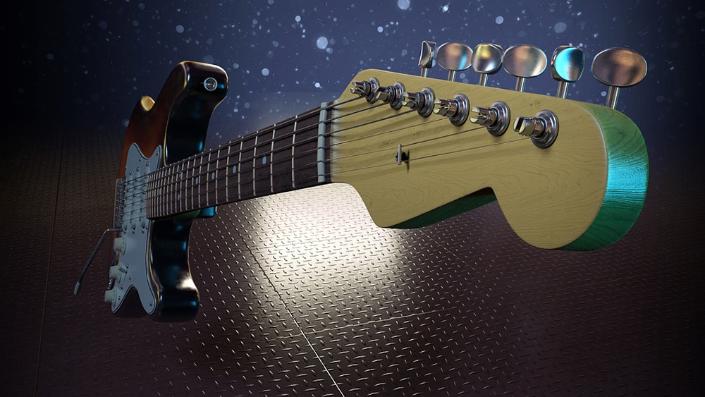 Best electric guitars under $500 featured image.