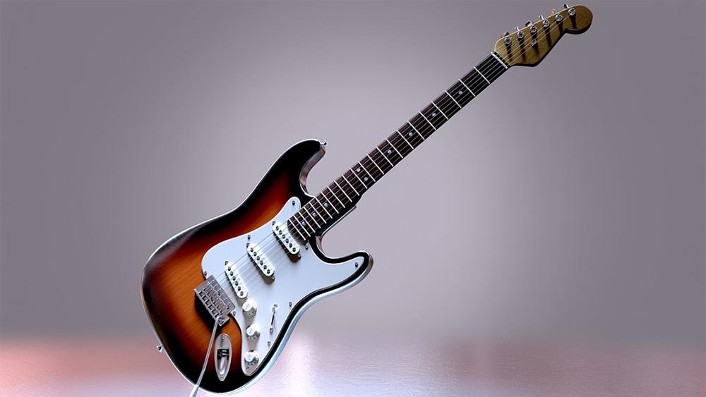 Best electric guitars under 1000 dollars featured image