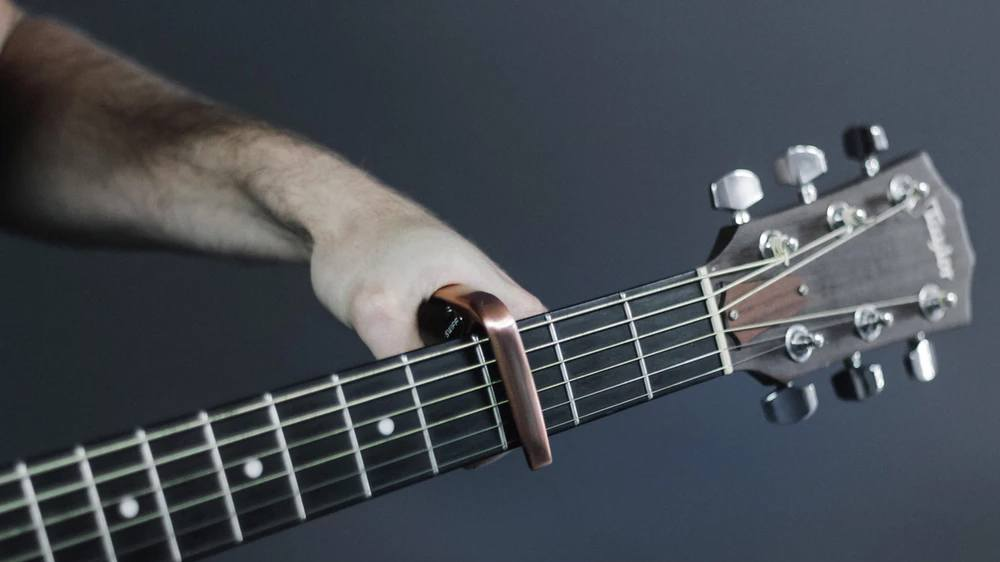 What is a guitar capo featured image.