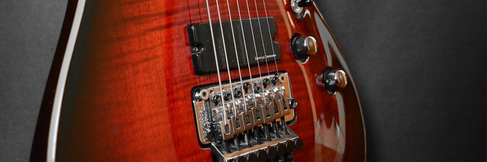 Buyers guide section for 7 sting guitars.
