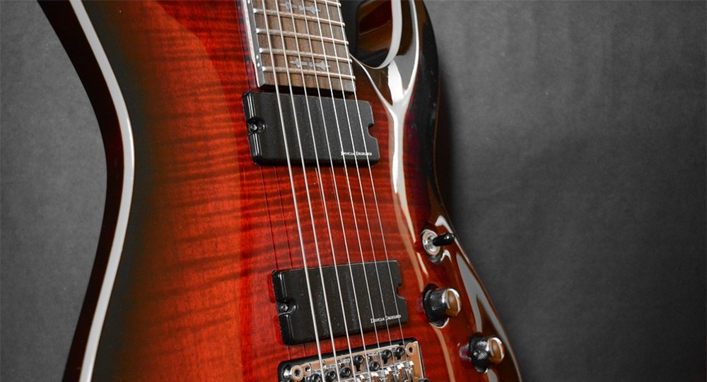 7 String Guitar. Featured Image.